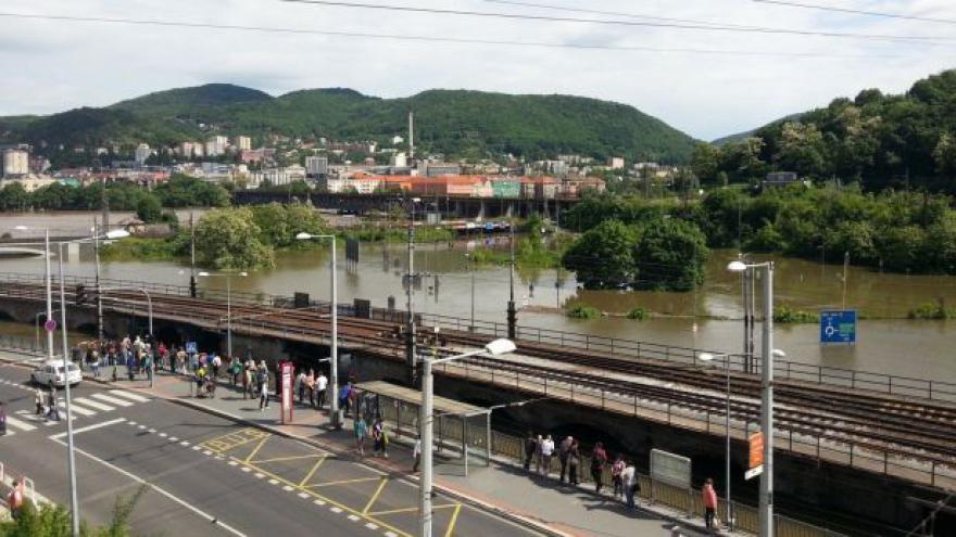 Video Situace v Ústí nad Labem a v Děčíně v 19:00