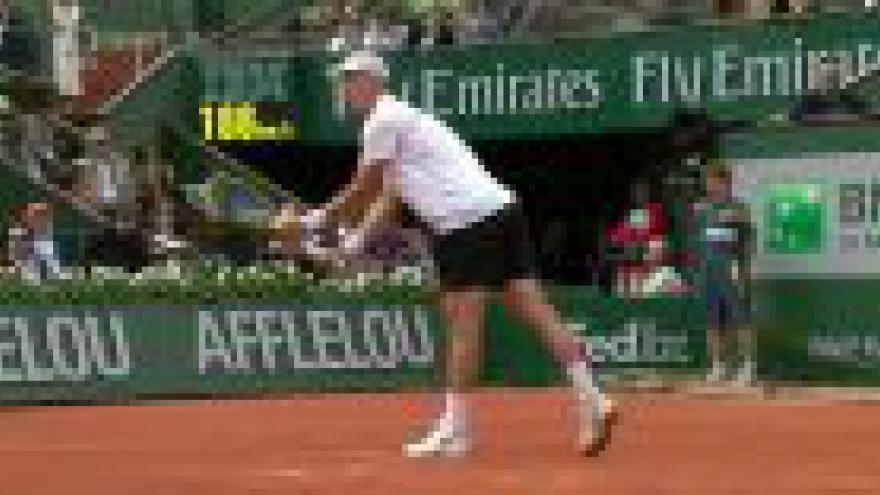 Video French Open 2013 - 1. kolo dvouhry mužů: Tomáš Berdych - Gael Monfils