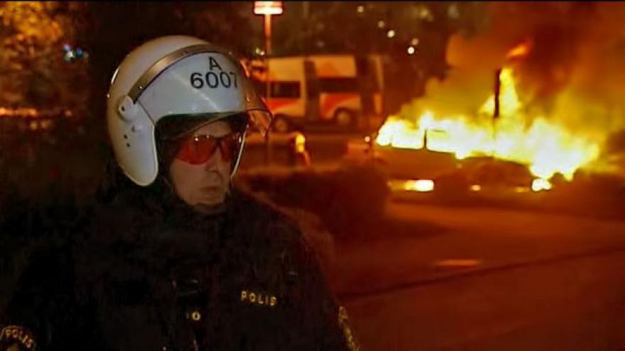 Video Blanka Závitkovská k nepokojům ve Stockholmu