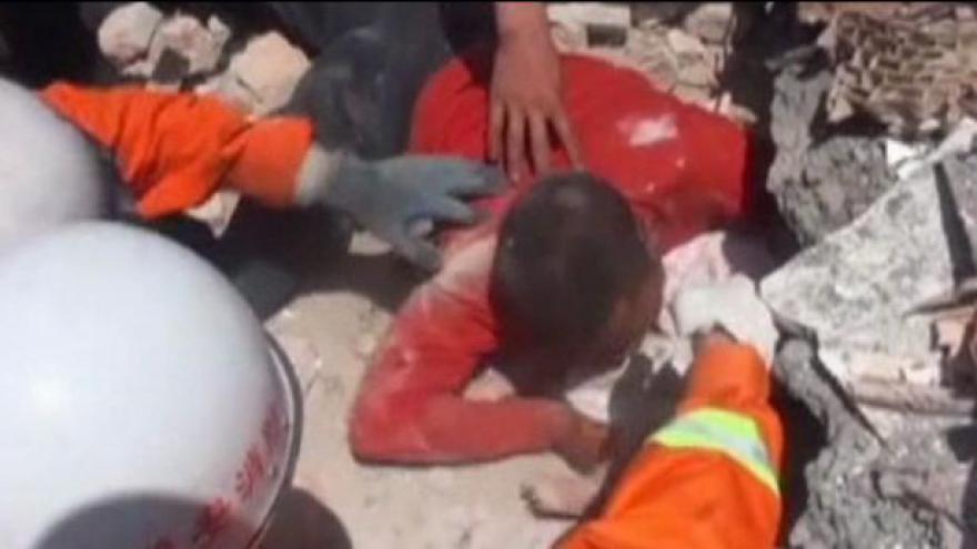 Video Zemětřesení v Číně