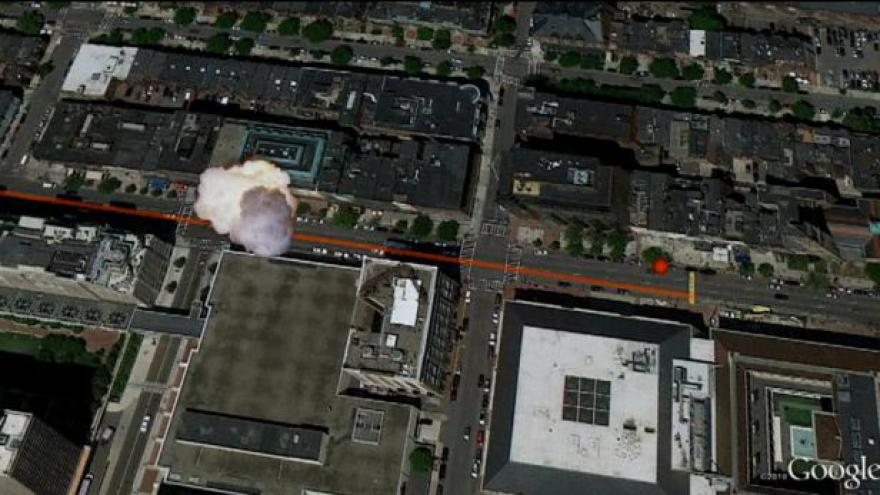 Video MAPA - kde došlo k útoku