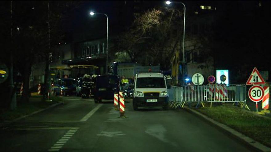 Video Únik plynu v Jeremenkově ulici v Praze