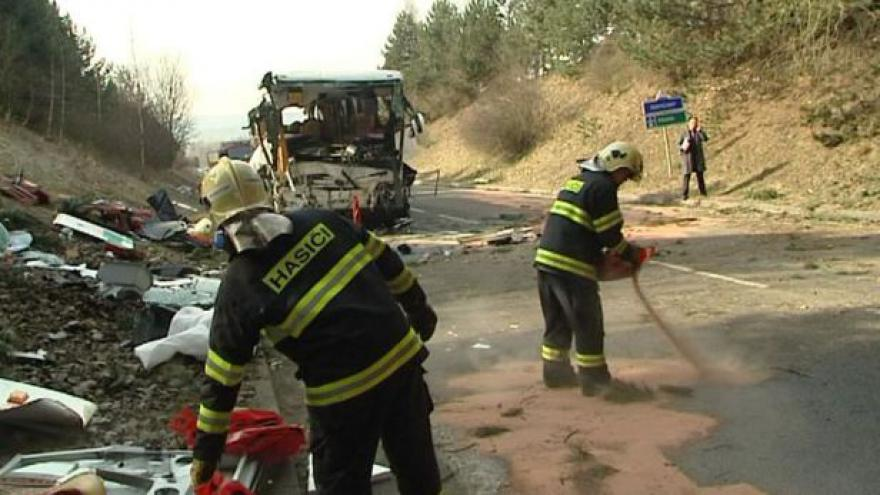 Video Filip Horký k nehodě autobusu u Rokycan
