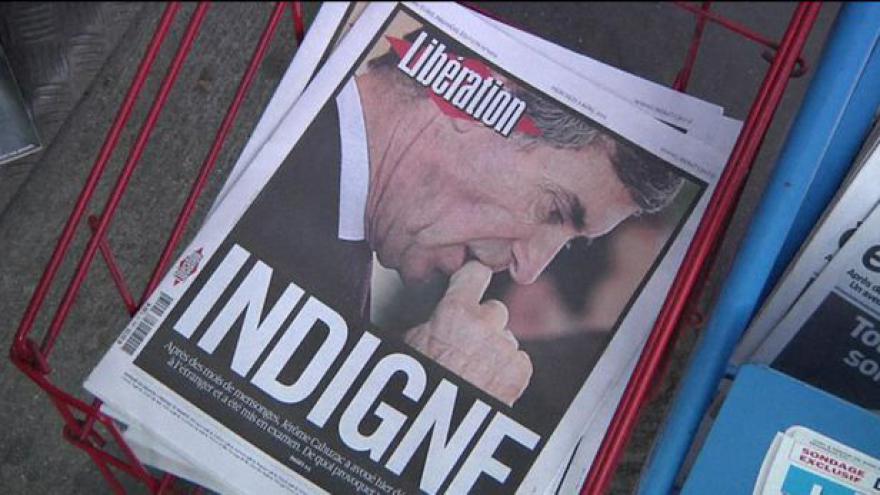 Video Politický skandál ve Francii