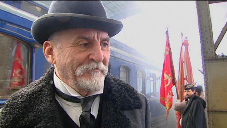Video Robert Sedláček režíroval příjezd TGM do Prahy