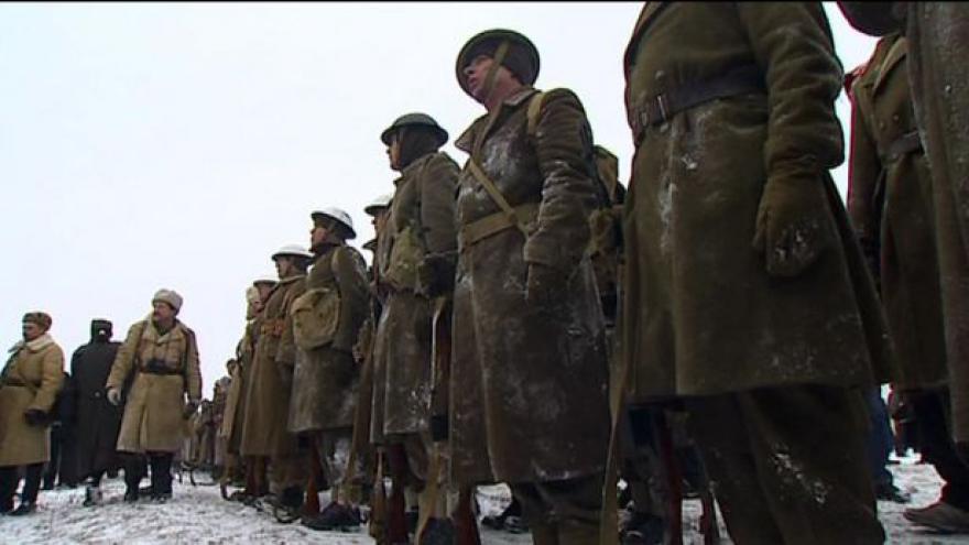 Video Reportáž o rekonstrukci bitvy u Sokolova