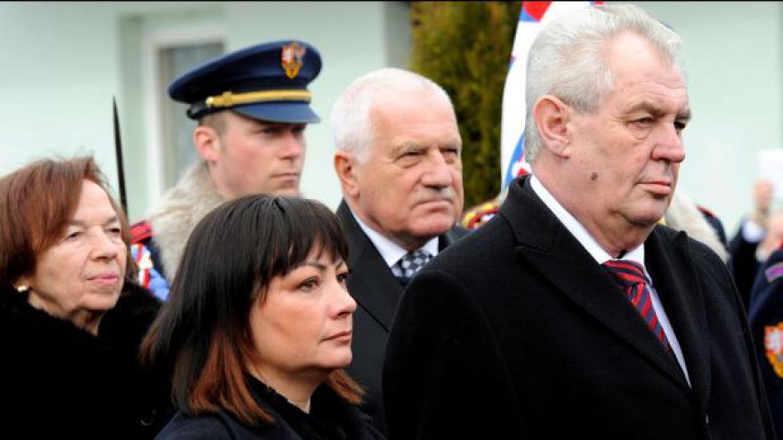 Video Miloš Zeman složí prezidentský slib