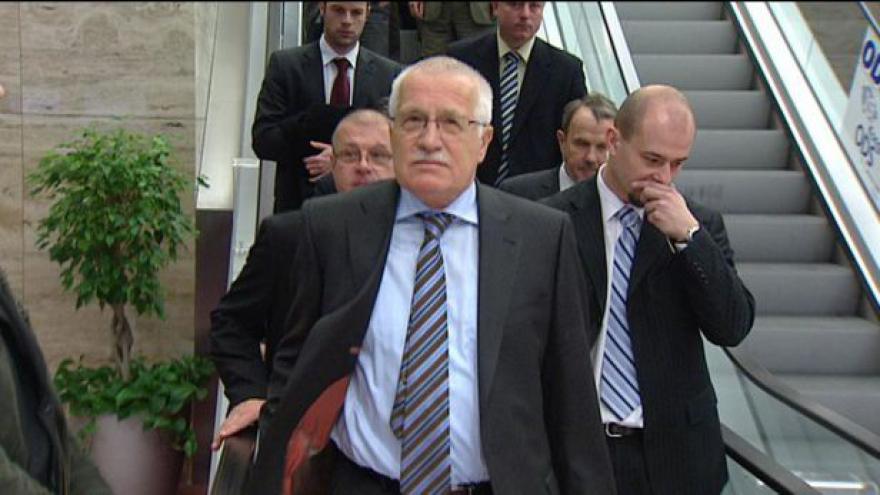 Video Václav Klaus obhajuje amnestii