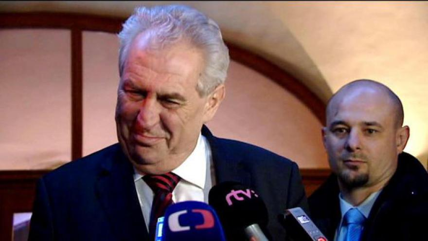 Video Reportáž Štěpánky Martanové o návštěvách u Miloše Zemana