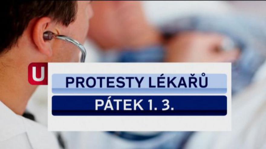 Video Lékařské protesty tématem Událostí