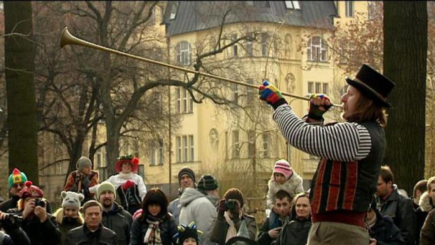 Video Masopust v Praze