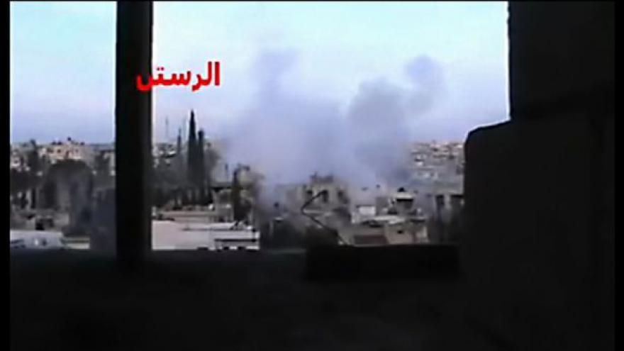 Video Rusko znepokojeno izraelským náletem v Sýrii