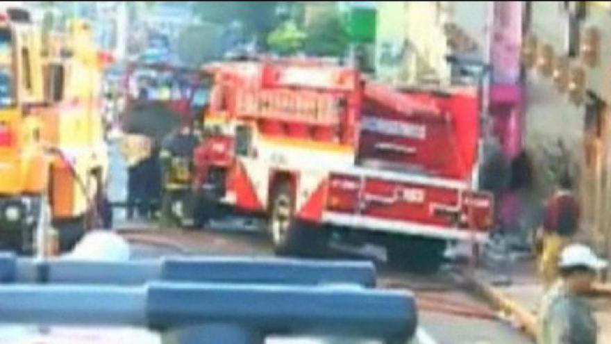 Video Požár v nočním klubu si vyžádal přes 245 obětí