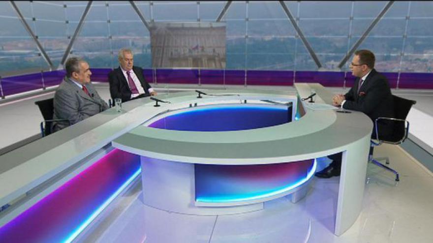 Video Miloš Zeman a Karel Schwarzenberg v OVM