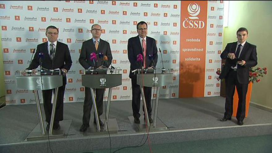 Video Brífink ČSSD k amnestii a rozpočtu