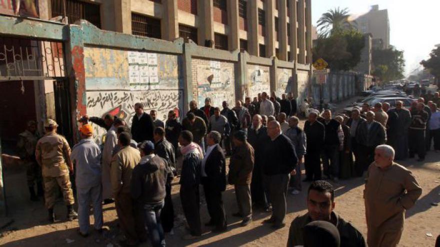 Video Egyptská ústava pravděpodobně prošla