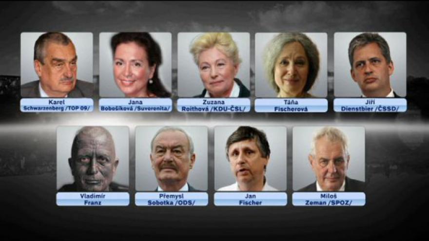 Video ČT vylosovala pořadí předvolebních spotů