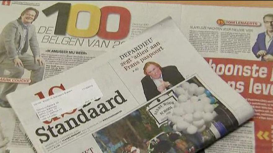 Video Depardieu zvažuje belgické občanství
