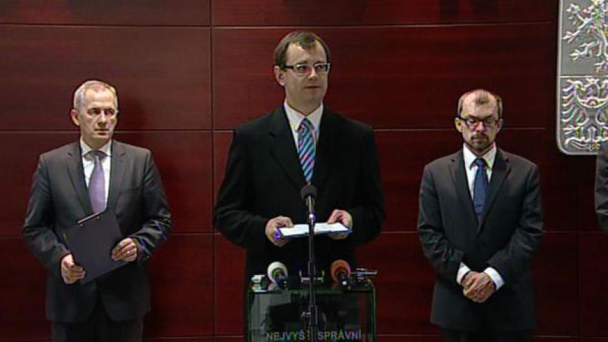Video Brífink NSS o stížnostech prezidentských kandidátů
