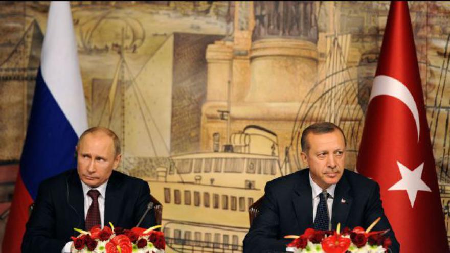 Video Rusko a Turecko se v názoru na řešení syrské krize neshodnou