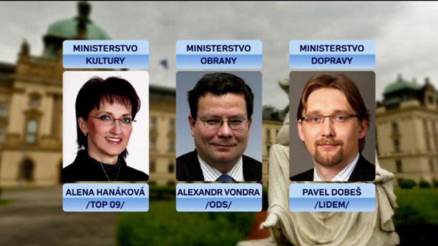 Video Reportáž Vladimíra Keblúška o vládní rošádě