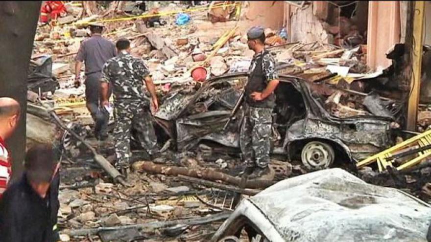 Video Libanonský policejní důstojník se stal obětí atentátu