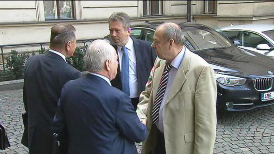 Video Jednání tripartity tématem Událostí ČT