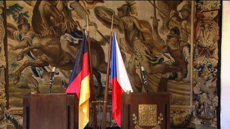 Video Brífink po setkání prezidentů Václava Klause a Joachima Gaucka