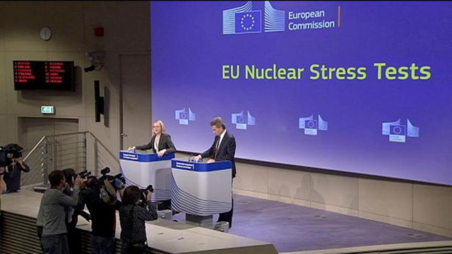 Video Brusel otestoval jaderné reaktory, nedostatky mají i ty české