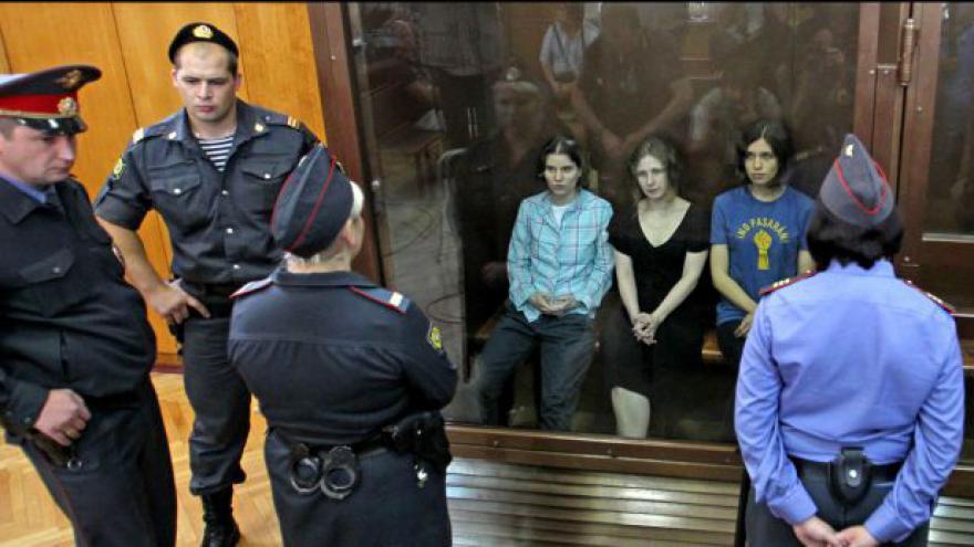 Video Moskevský soud začne projednávat odvolání Pussy Riot