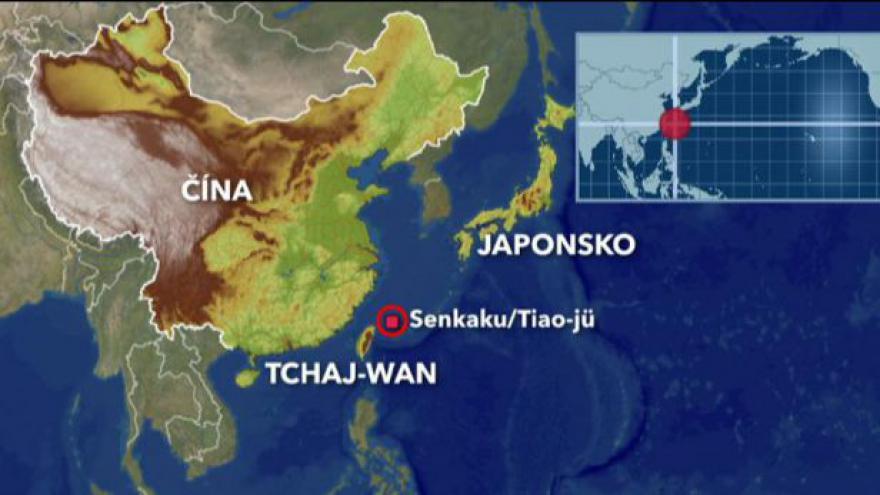 Video Tchaj-wan se vložil do sporů o ostrovy