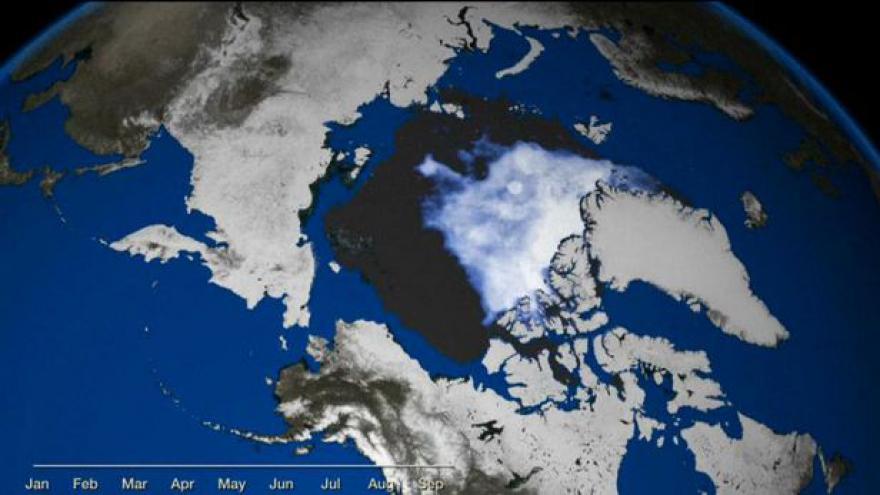Video Rekordní tání na Arktidě