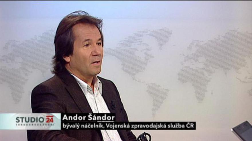 Video Rozhovor s bývalým náčelníkem Vojenské zpravodajské služby Andorem Šándorem