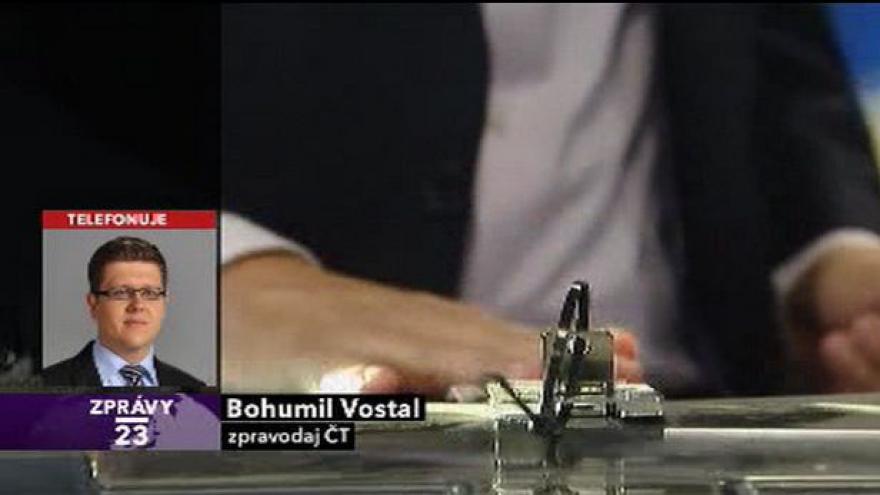 Video Telefonát Bohumila Vostala (Zprávy ve 23)