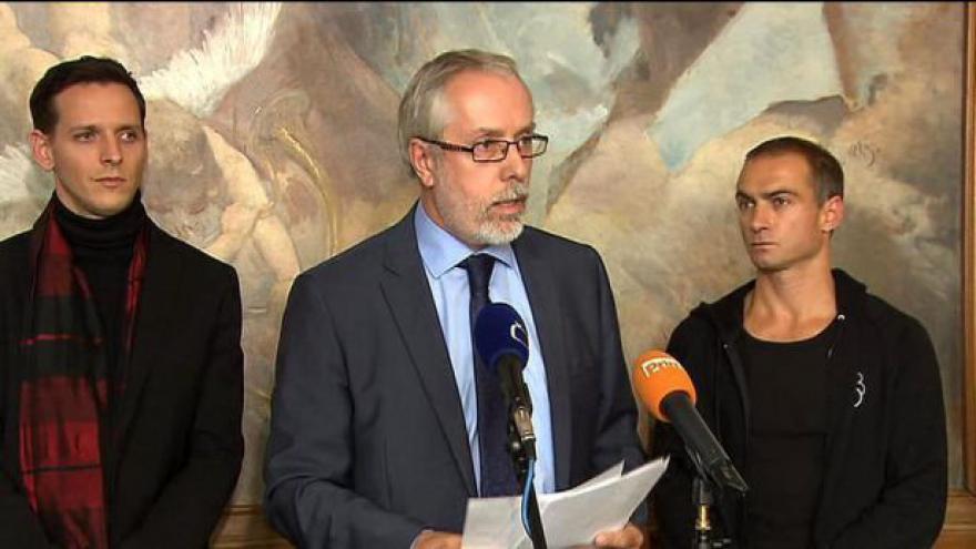 Video Brífink odvolaného ředitele Ondřeje Černého
