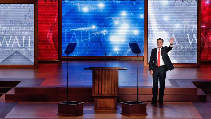 Video Romney přijal prezidentskou nominaci