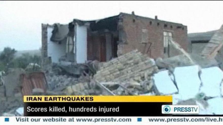 Video Írán postihlo zemětřesení