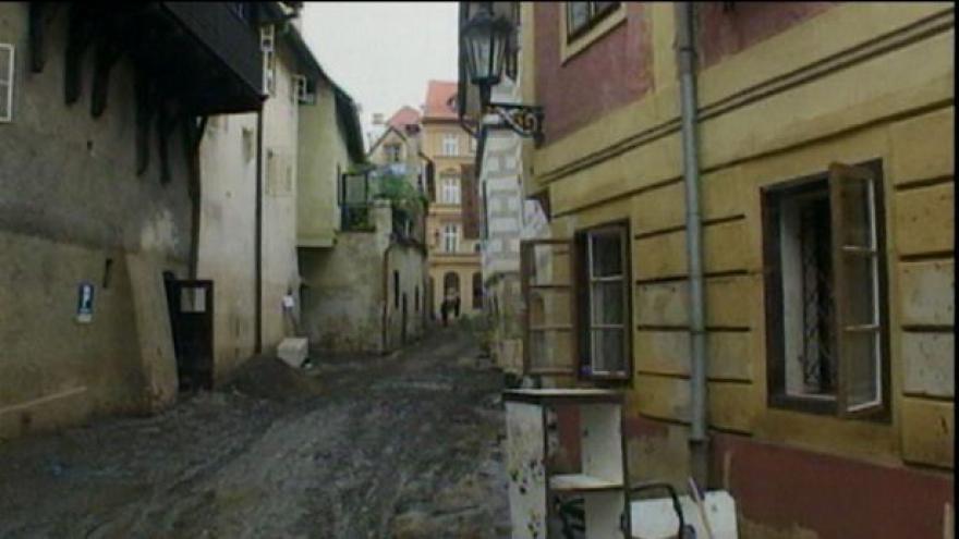 Video Český Krumlov 10 let po povodních