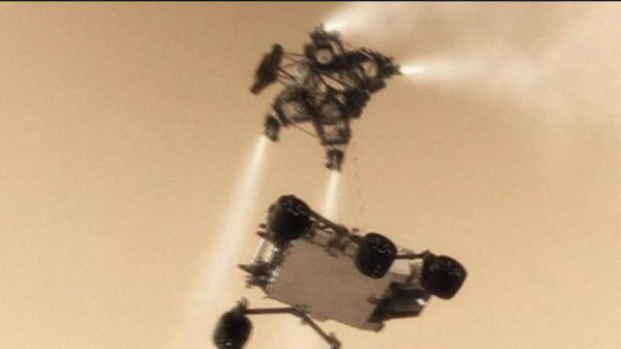 Video NASA se připravuje na náročné přistání