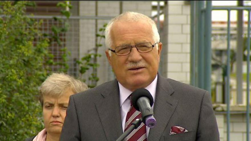 Video Václav Klaus na návštěvě Temelína