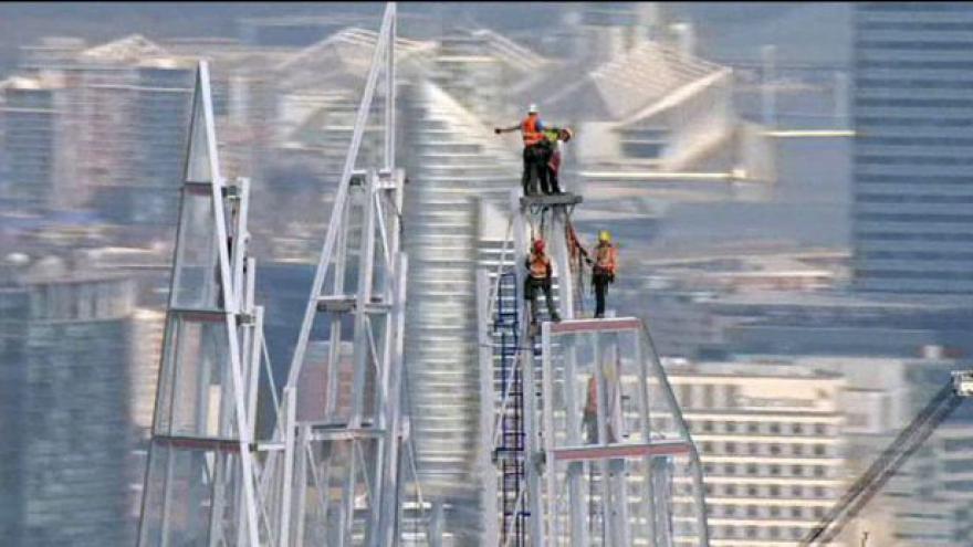 Video Londýn má nový mrakodrap