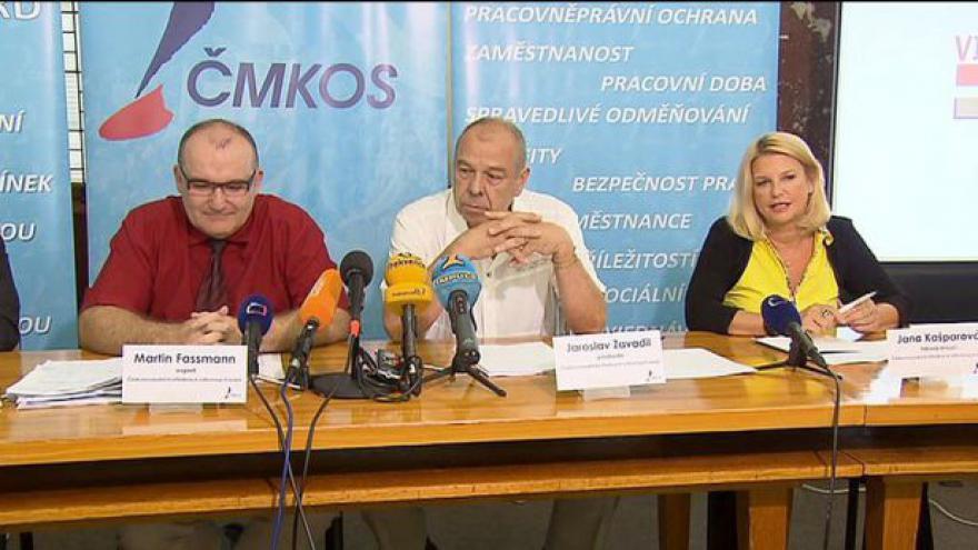 Video Odbory představily plán na povzbuzení ekonomiky