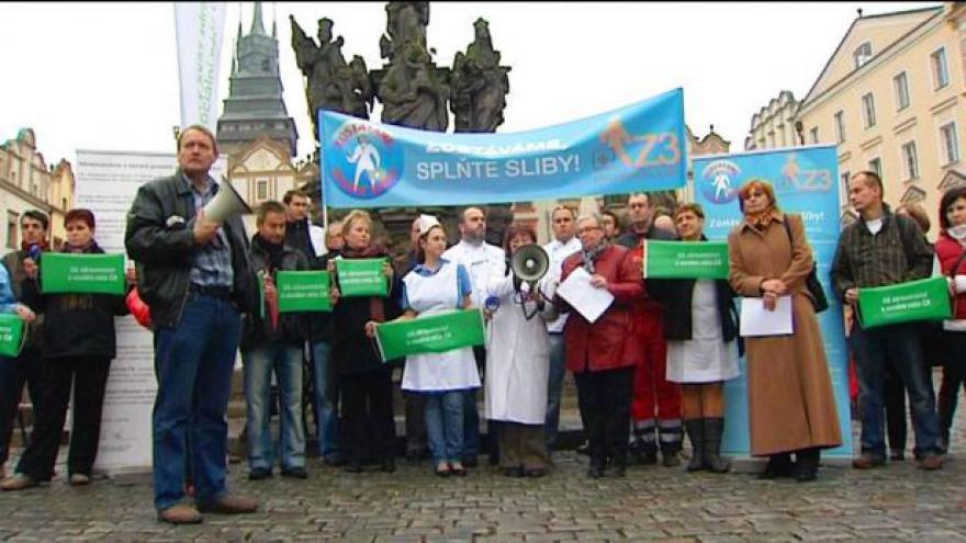 Video Lékařské odbory plánují další protesty