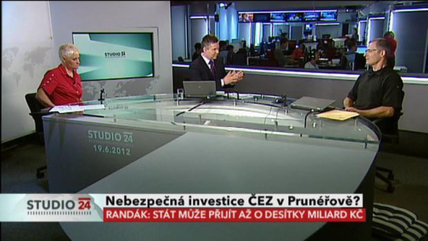 Video Karel Randák, Věra Ježková a Ladislav Kříž k modernizaci Prunéřova II