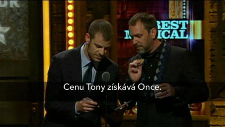 Video Marek Irgl k cenám Tony
