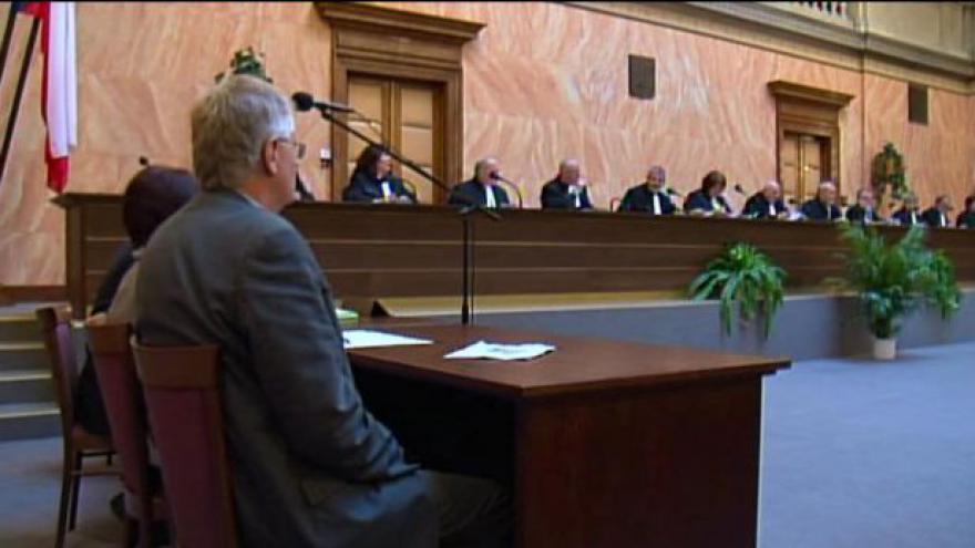 Video Duchoň opouští Ústavní soud, nový mandát odmítl