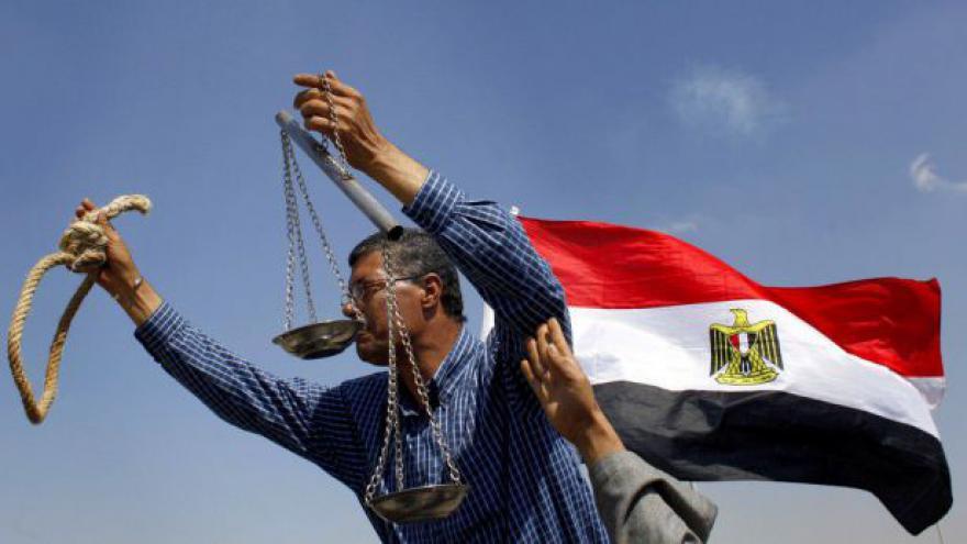 Video Reportáž o egyptských protestech