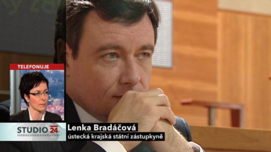 Video Telefonát státní zástupkyně Lenky Bradáčové