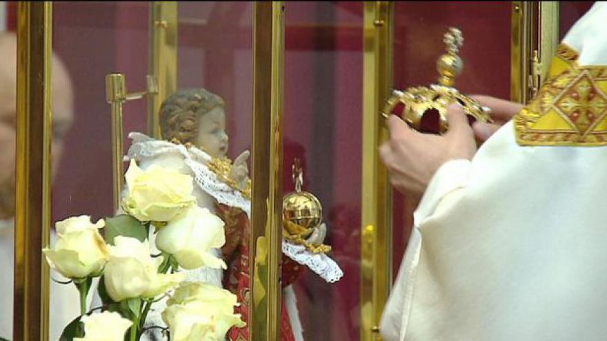 Video Korunovace Pražského Jezulátka