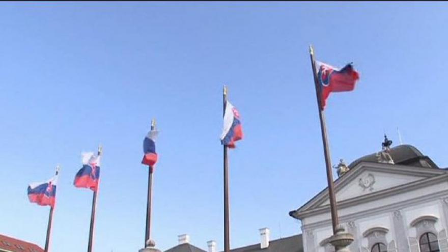 Video Slovenský premiér na návštěvě v Praze